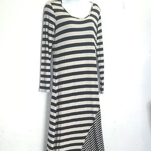 cha cha vente striped maxi dress Sm